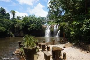the falls et le coin pique-nique
