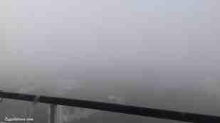 l'hiver est là et le brouillard avec ! quelques journées sont belles mais il commence à vraiment faire frais !