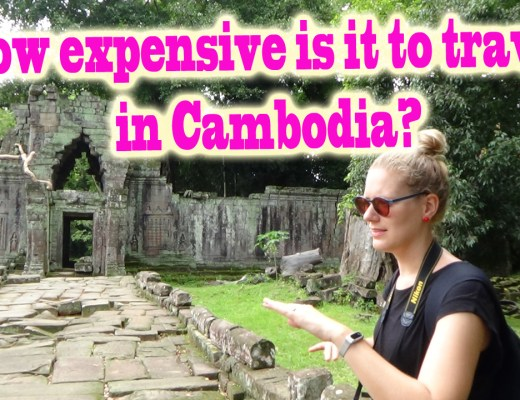 Cost to travel in Cambodia