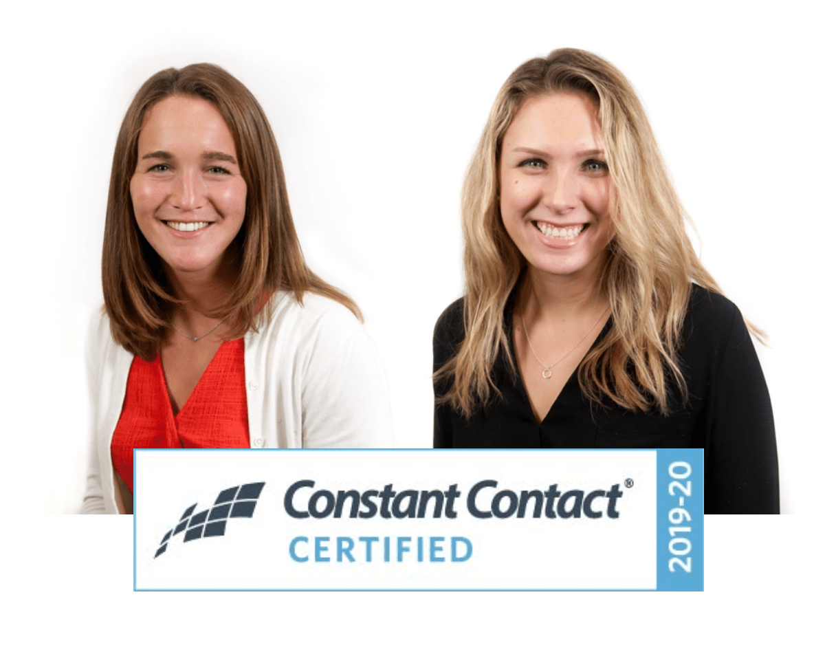 Bryn And Blair Earn Constant Contact Certification Tripepi
