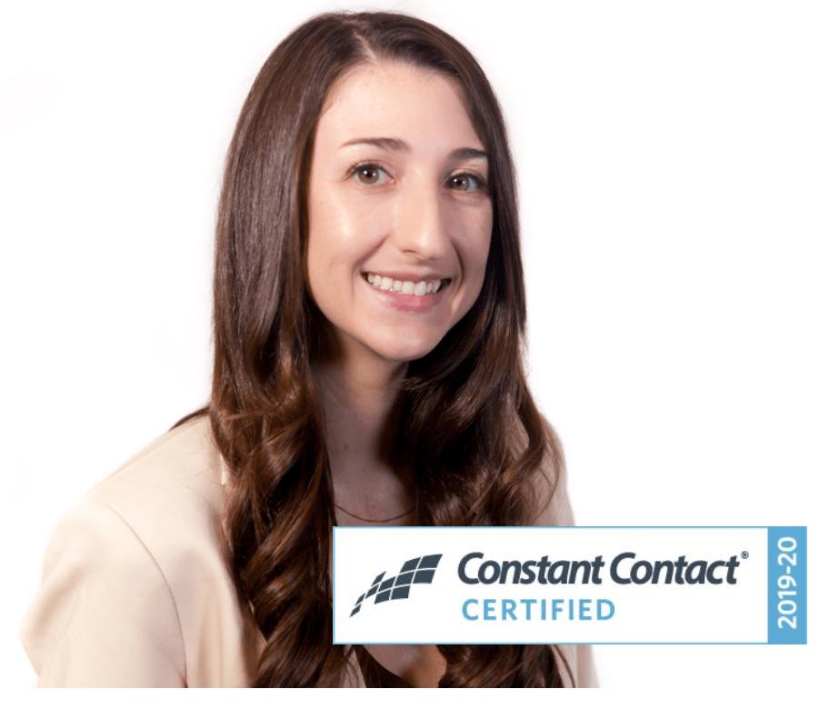 Melanie James Earns Constant Contact Certification Tripepi