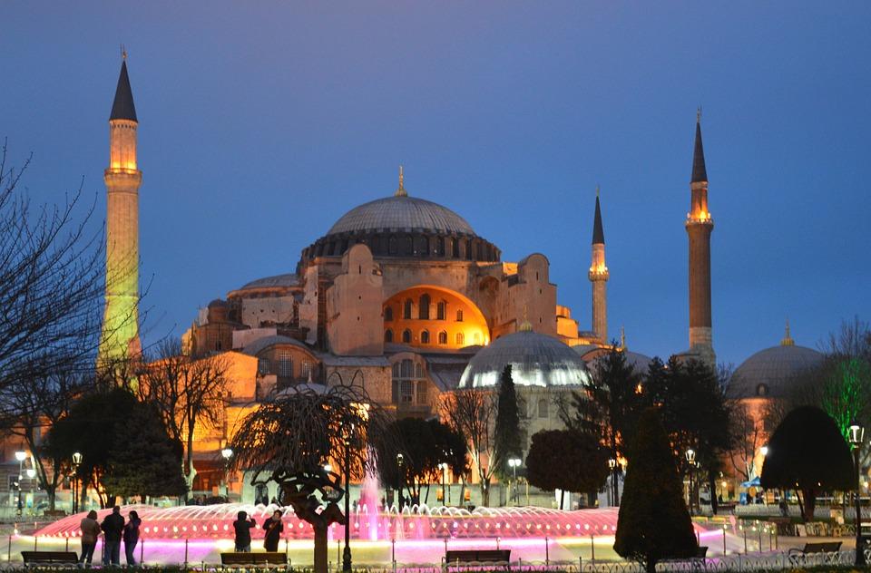 Hagia Sophia Best places to visit in Turkey
