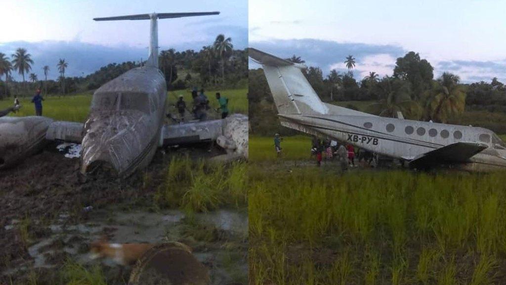 Arrestation de deux étrangers après l'atterrissage forcé d'un avion à Saint-Jean du Sud