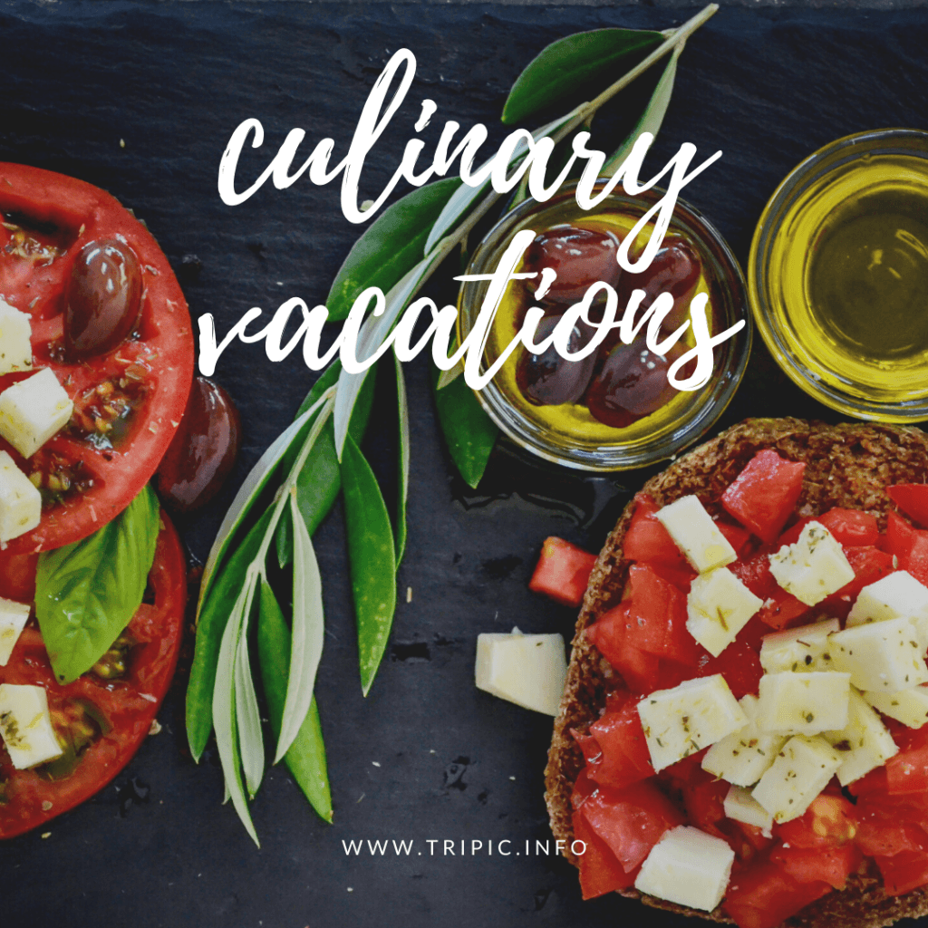 BOOK CULINARY VACATIONS WORLDWIDE