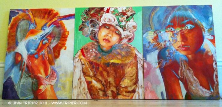 Painting studio - Jean Tripier