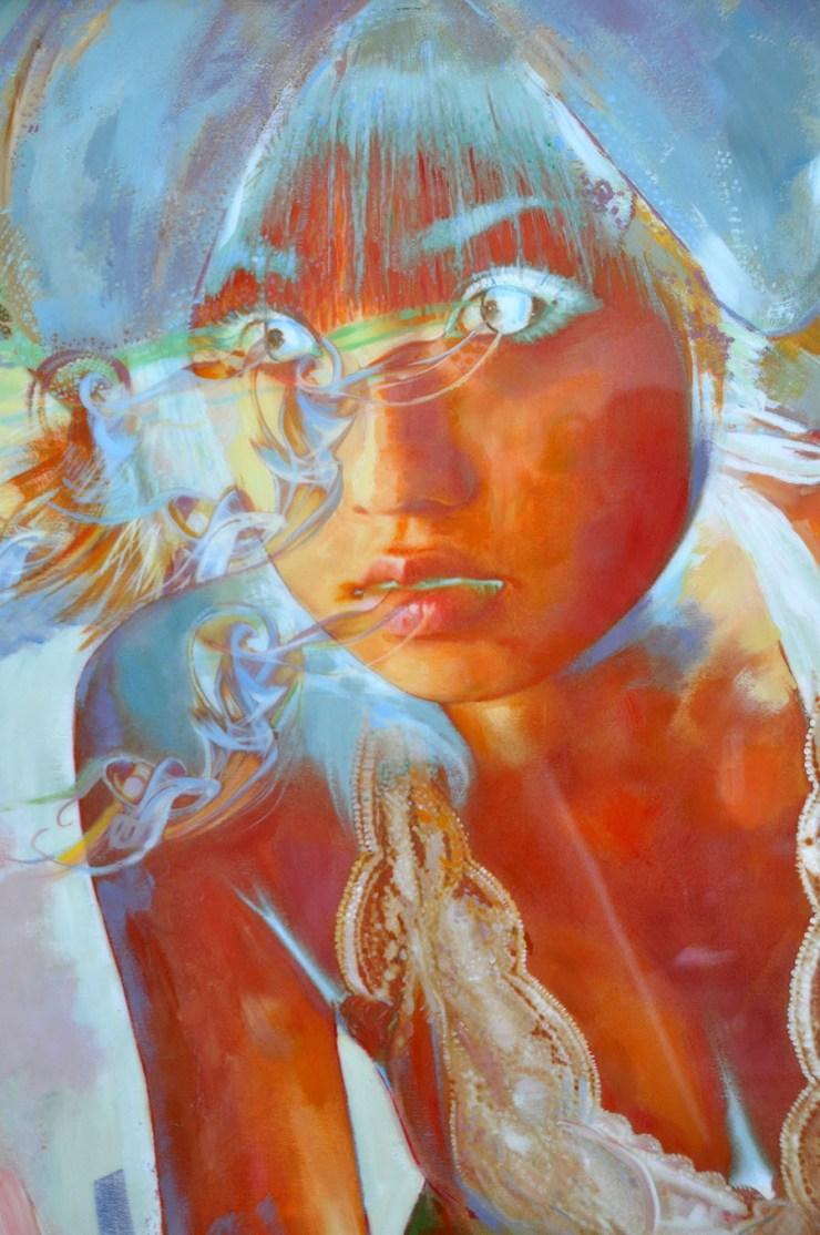 Breathe - Painting by Jean Tripier