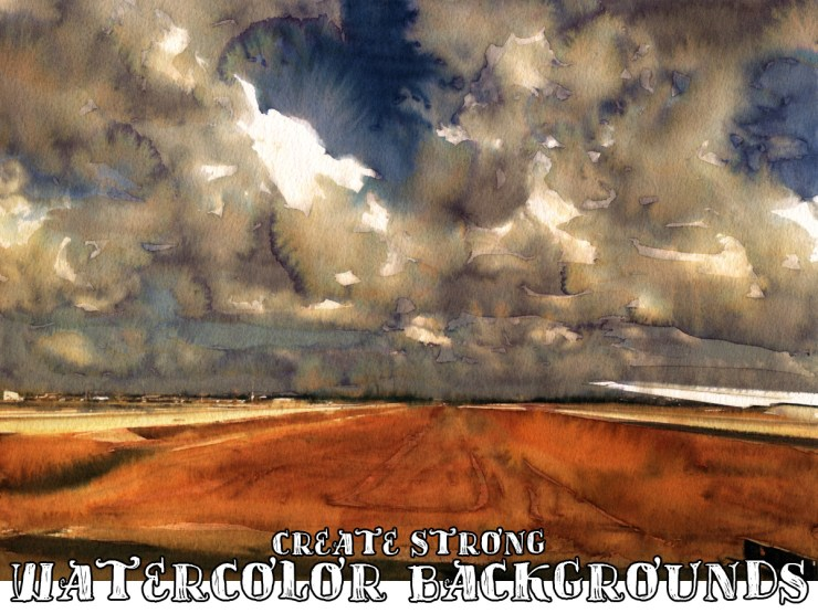 watercolor background example
