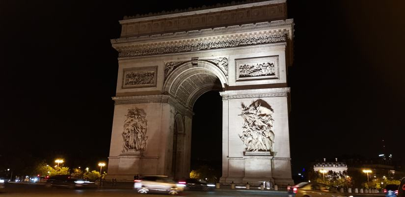 3 days in Paris Can you do Paris in 3 days Arch of Triumph