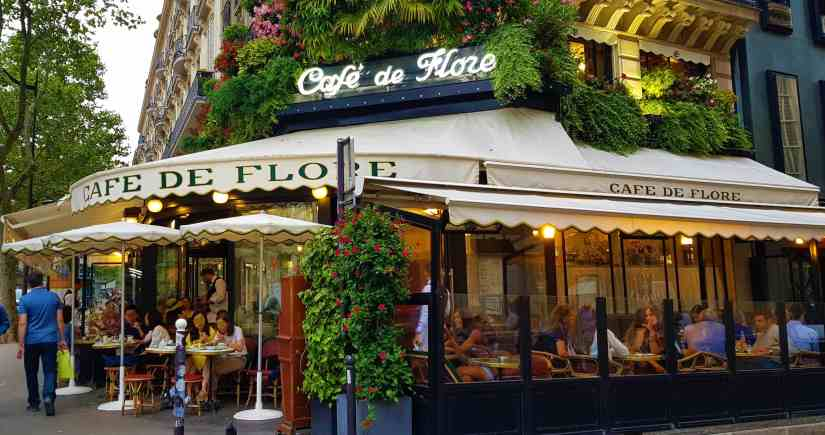 cafè de flore paris is the city of