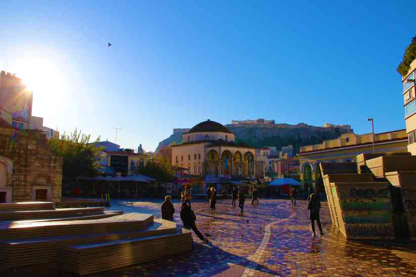 Monastiraki Athens: history, food and shopping 2