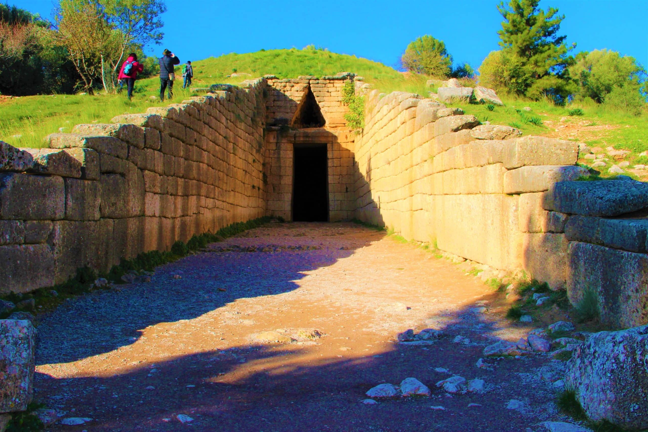 Treasury of Atreus the Legendary Tomb of Agamemnon
