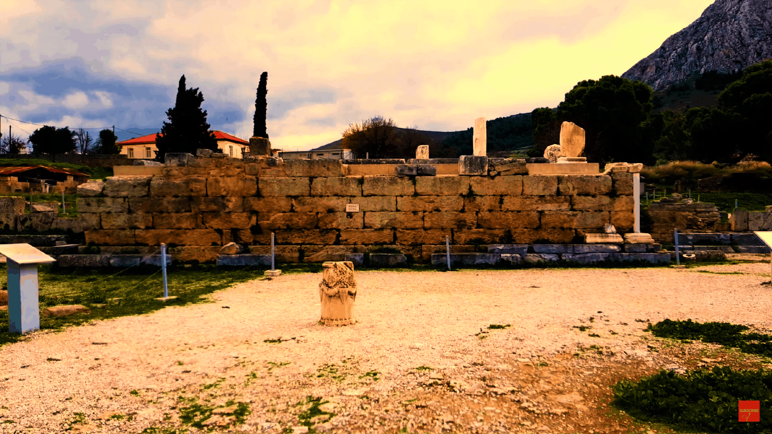 bema ancient corinth