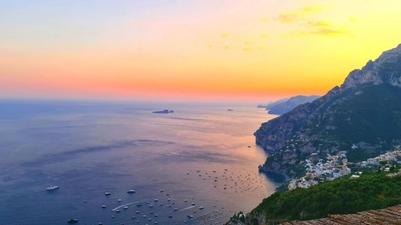 Best Amalfi Coast Sunset Positano Italy 1