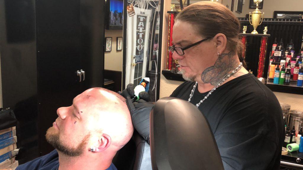 780976462 Rick Trip's Tattoo With Ivan Moody! - Best Tattoo Shops In Las Vegas   Trip  Ink Tattoo Company
