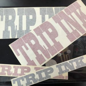trip ink tattoo vinyl decals