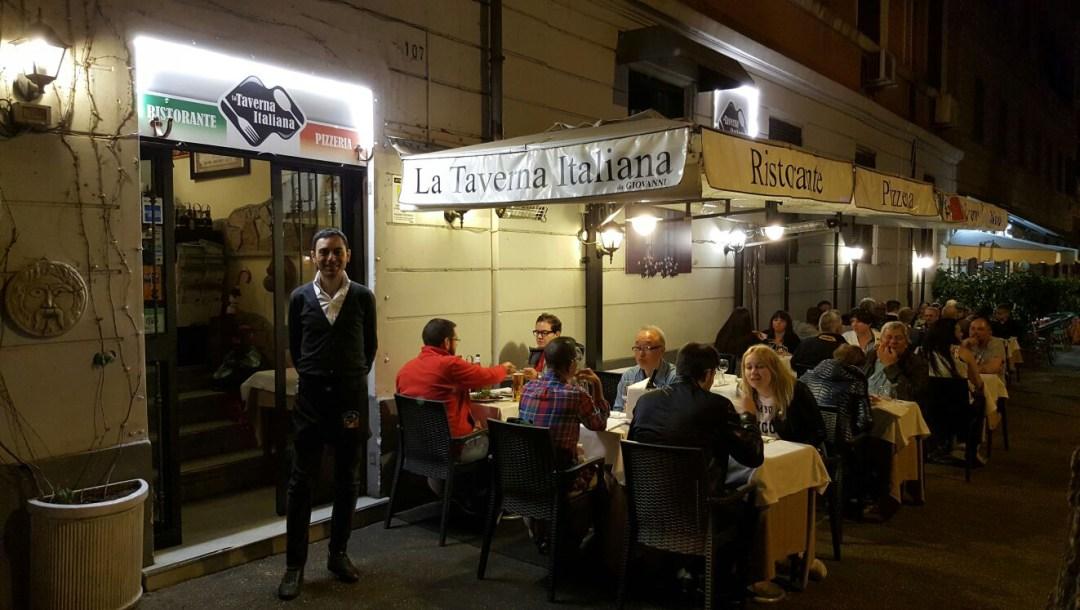 Inexpensive restaurants in Rome
