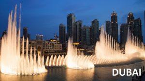 Dubai fountains by Tripjohns