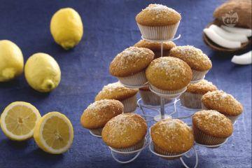 muffins al cocco e limoncello