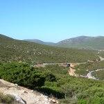 Capo Caccia panoramica su cala dragunara
