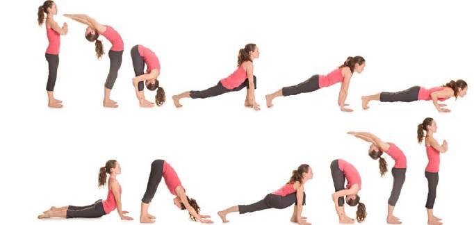 Yoga - Saluto al Sole