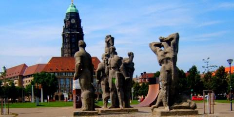 Dresda statue