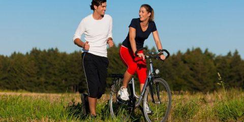 pedalare o correre