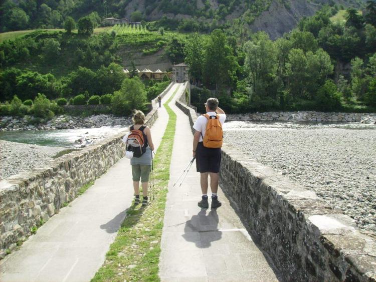 Cammini d'Italia via degli abati