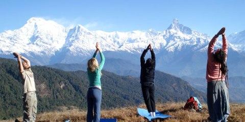 trekking yoga