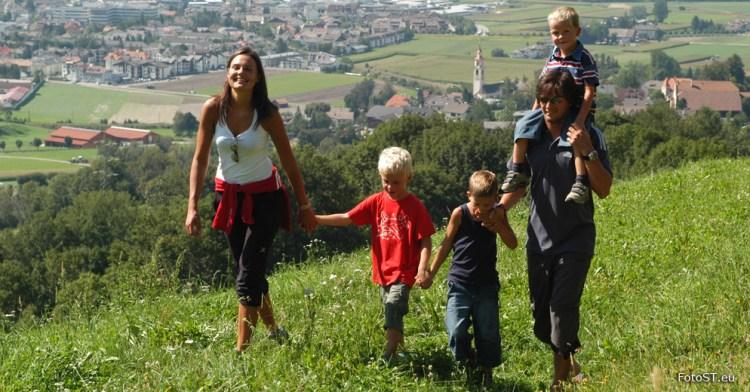 Trekking in famiglia