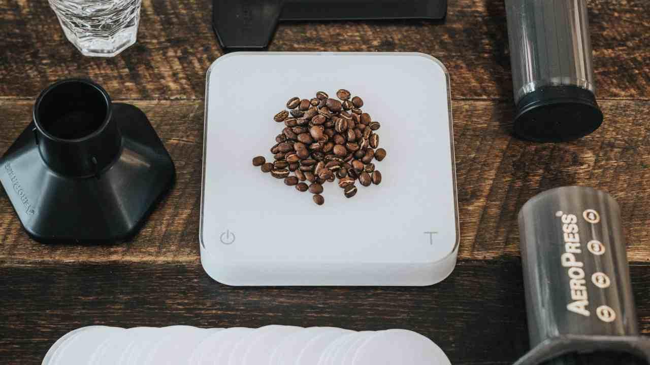 Everything you need to make Aeropress coffee