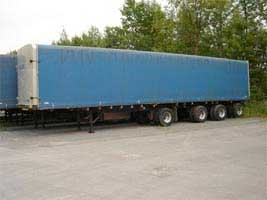 48 foot axle covered top loading - Triple K Transport