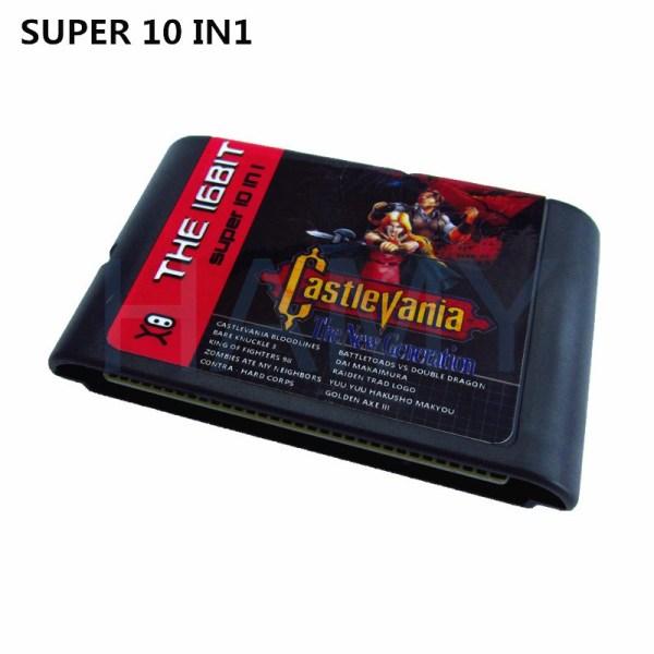 Sega Mega Drive multi game cartridge