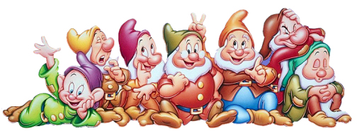 Image result for seven dwarfs from snowhite