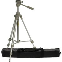 Sunpak 59.4-Inch PlatinumPlus 5800D Digital Tripod with 2 Quick Release Plates and Case for Canon, Nikon, Olympus, Pentax and Sony Digital Cameras