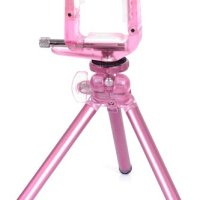 Sunpak 620-502R VersiPod with 3x Tripod, Adapter, Carry Pouch (Pink)