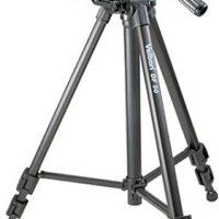 Velbon DF-50 Deluxe Dual-Function Tripod with 3-Way Fluid Pan Head