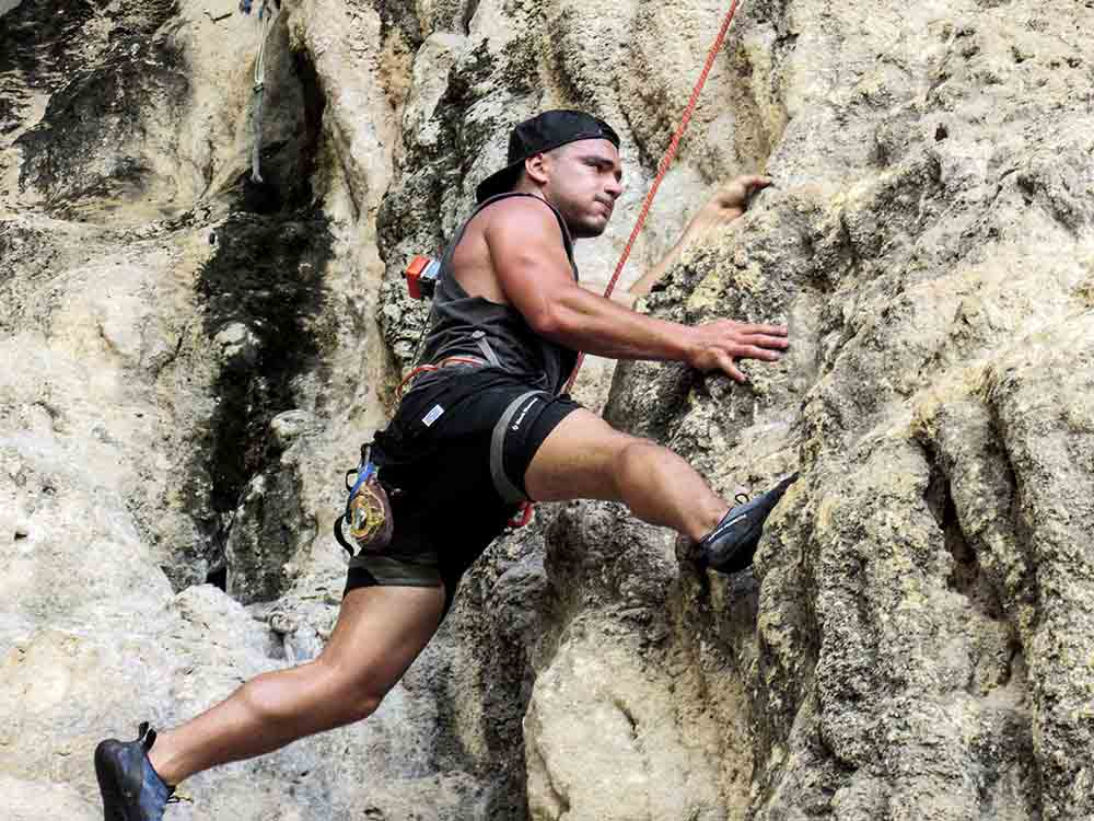 Railay! Thailand's Rock Climbing Mecca