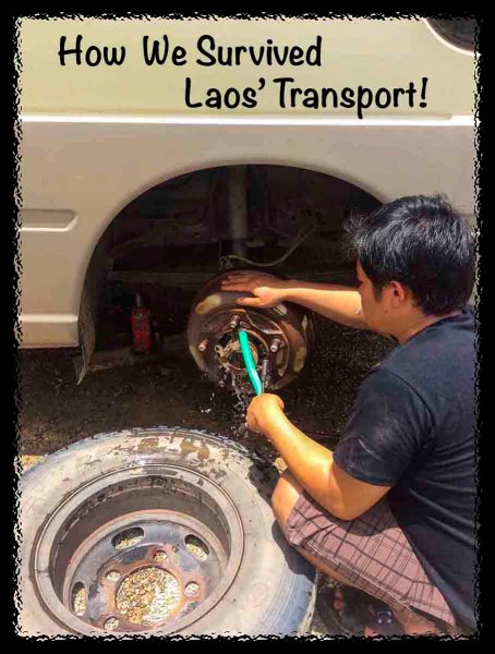 How We Survived Laos' Transport!