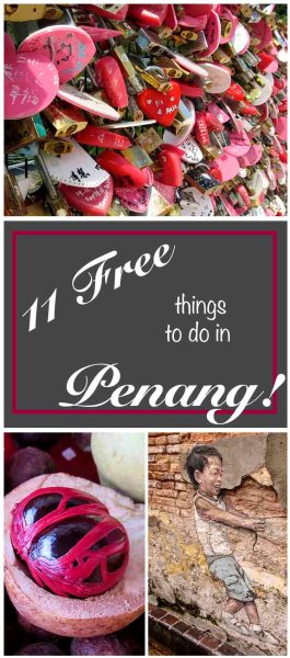 11 Free Things To Do In Penang!