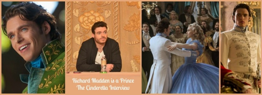 Richard Madden is a Prince: The Cinderella Interview # ...