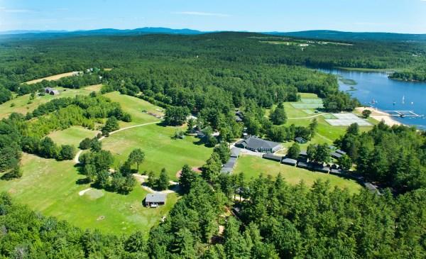 Tripp Lake Camp in Maine