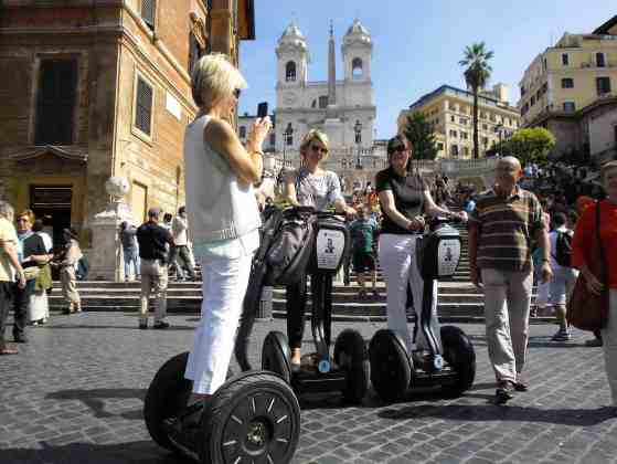Rome Tour in Segway
