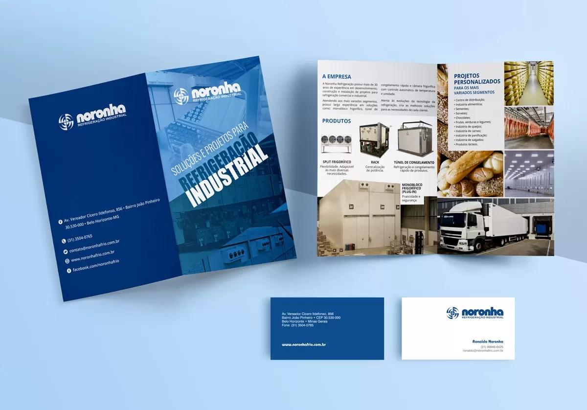 Material impresso - Tripplo comunicação