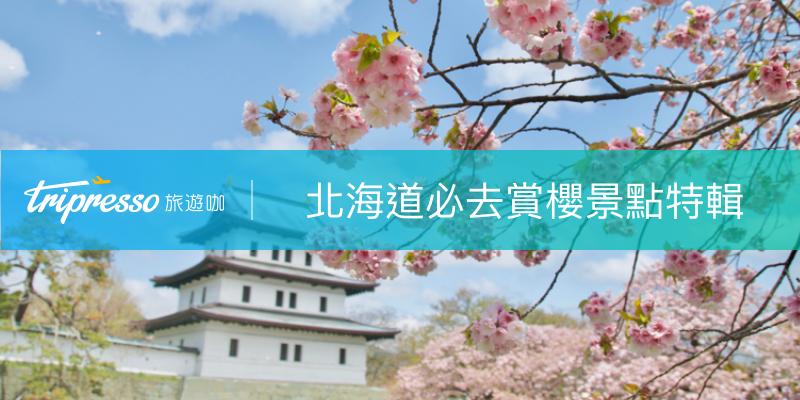 北海道景點|北海道賞櫻名所、交通、最佳賞櫻期整理,5月賞櫻也不晚!