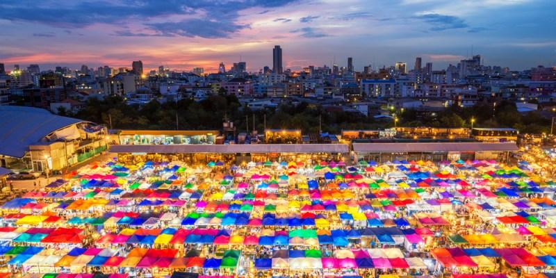 曼谷夜市攻略!十大必去曼谷夜市:知名火車市集、最新文青懷舊風夜市