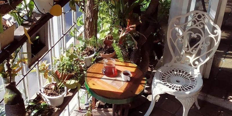 戶外咖啡廳