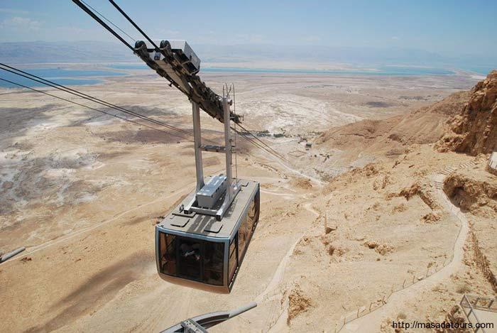 Masada Cableway, Israel
