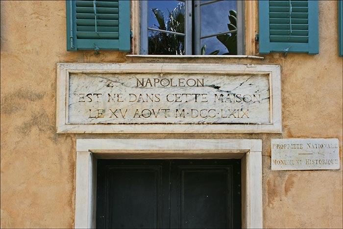 Napoleon's Ancestral Home