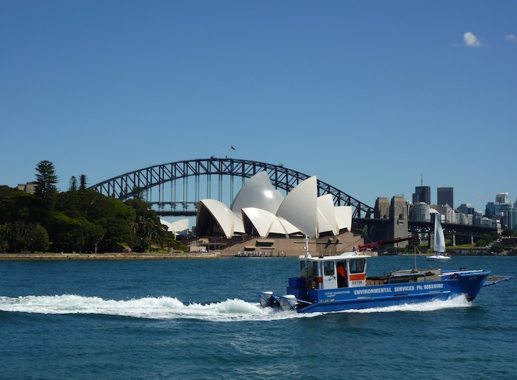 Sydney Harbour Bridge and Opera House, Australia