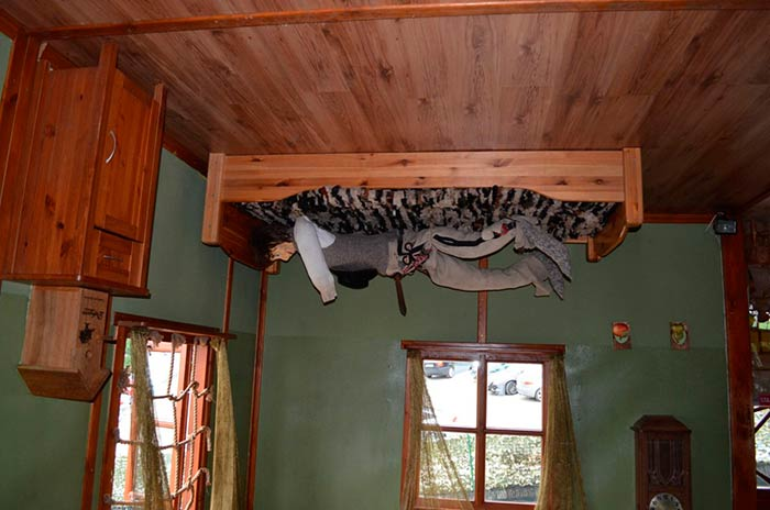The Upside Down House in Zakopane